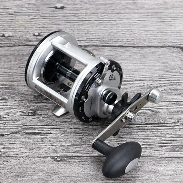 Baitcasting 12+1BB Drum Saltwater Sea Fishing Reels Bait Casting Right Hand Surfcasting Reel FG66|Fishing Reels| |  - title=