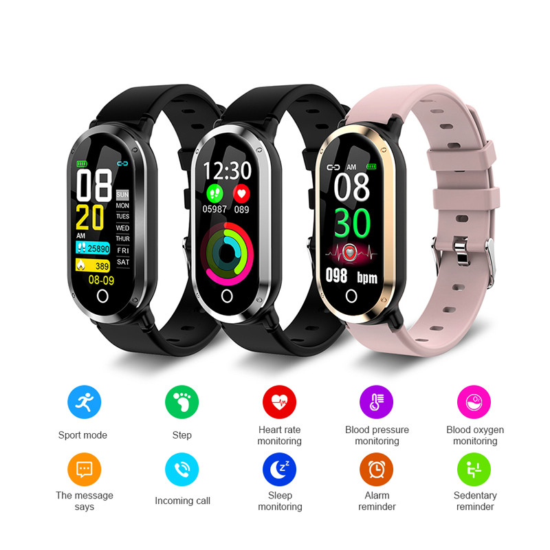 Smart Bracelet Men Woman Child Heart Rate Blood Pressure Monitor Fitness Tracker Sport Bracelet Smart Band For IOS Android Watch