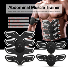 купить Smart Fitness Muscle Stimulator Abdominal Tool Exercise Abdominal Fitness Training Toning Gear Workout Muscle Training Device онлайн