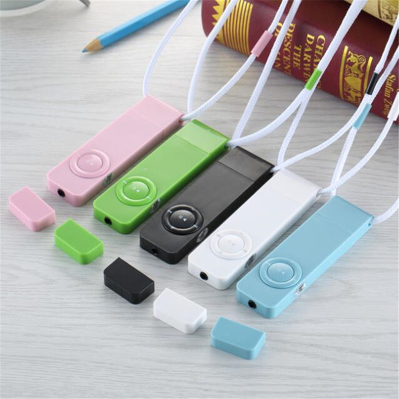 Mp3 Player Portable Strip Sport Lossless Sound Mini Mp3 Support Micro TF Card Media Players USB Port