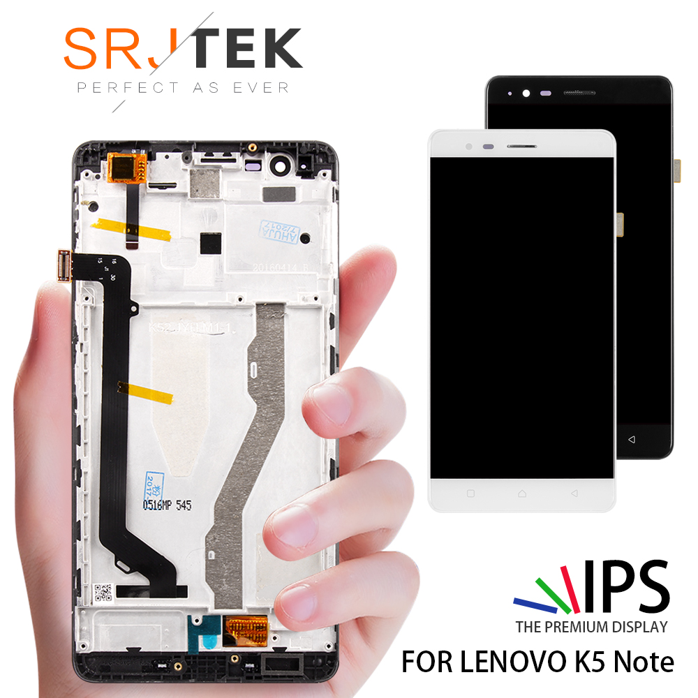 100% Tested Original 5.5 Inch Display For Lenovo Vibe K5 Note LCD With Touch Screen For Lenovo K5 Note Display A7020 LCD