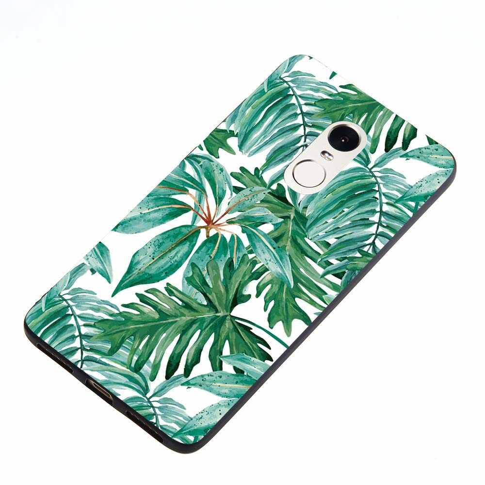 Pour Xiaomi Redmi Note 4 4X Note 5 5A PRO Redmi 4 PRO 4A 4X5 Plus luxe coque de téléphone flamant rose oiseau fleurs étoiles coque souple