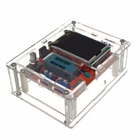 Clear Acrylic Case Shell Housing For GM328 Transistor Tester Capacitance ESR Mega328