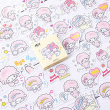 40pcs/pack Lovely Lamb Totem Calendar Stickers Pack Posted It Kawaii Planner Scrapbooking Memo Pads Office Accessories(China)