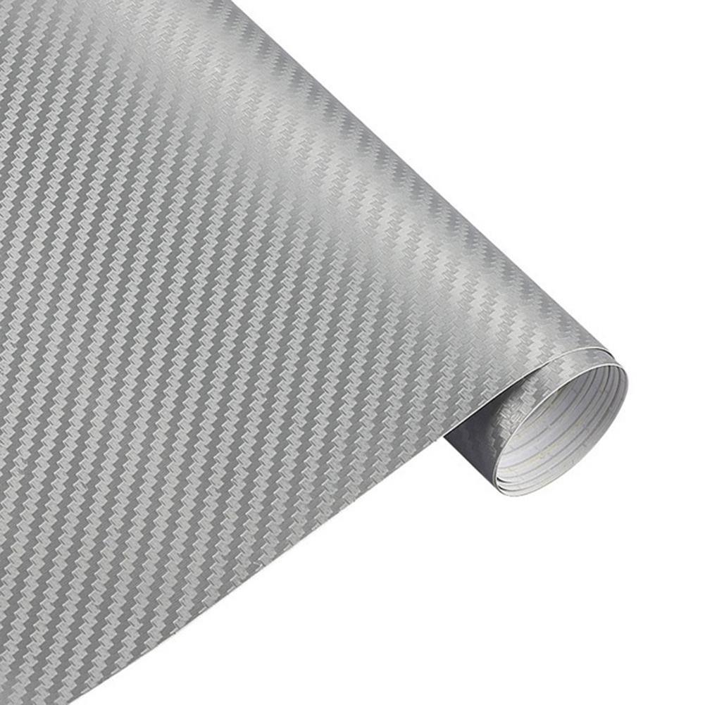50x127cm PVC Anti-Scratch 3D Carbon Fiber Auto Car Body Change Color Interior Decor Film Sticker Automotive Interior Stickers