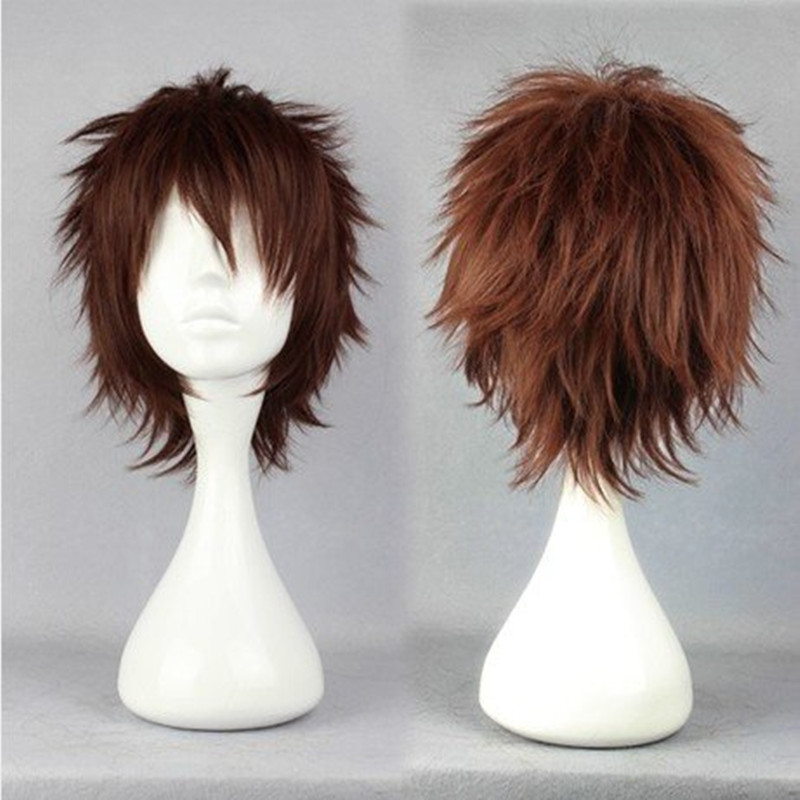 HAIRJOY  Synthetic Hair Ensemble Stars Rabits Cosplay Wig Short Layered  Wigs 2