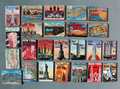 24 PCS New York  refrigerator fridge magnets sets souvenir  Statue of Liberty magnetic stickers home decorantion free shipping
