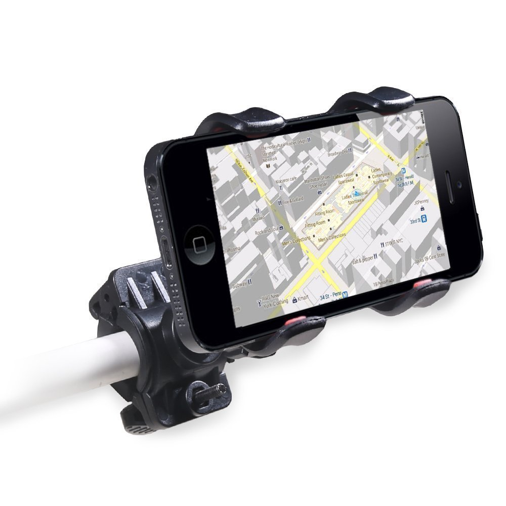Universal Motorcykel MTB Bike Cykeltelefonhållare Styrhållare för - Reservdelar och tillbehör för mobiltelefoner - Foto 2