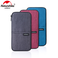 Naturehike Multi Function Outdoor Bag For Cash Passport Card Multi Using Travel Wallet NH17C001 B