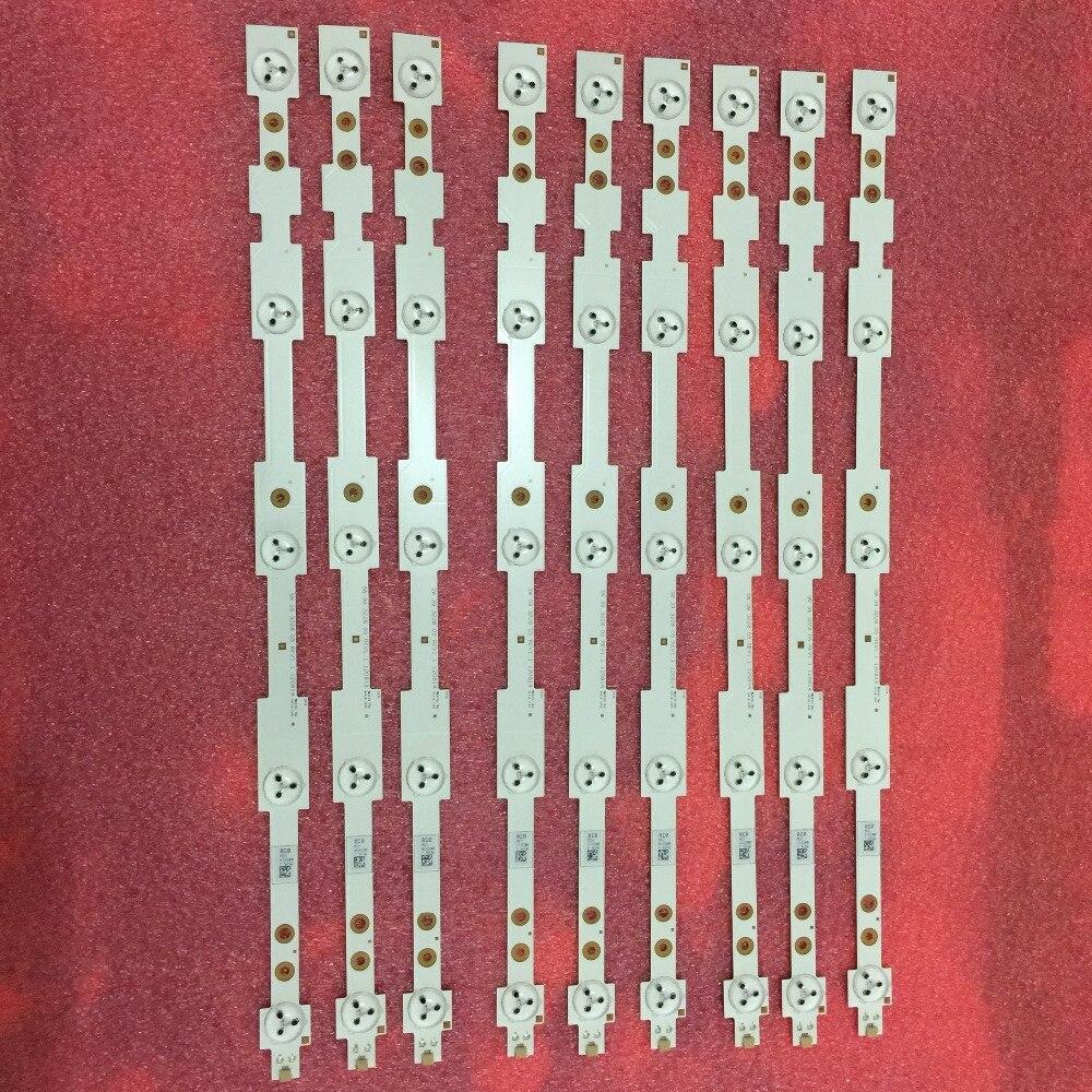9pcs X 42inch TV Backlight LED Strips For LED42K20JD LED42EC260JD SVH420A72 42K30JD LED42EC290N SVH420A72-REV3