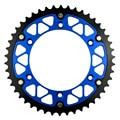 46 t de aço da motocicleta de alta performance composto de alumínio da roda dentada traseira para yamaha wr250f wr250 f 2001-2014
