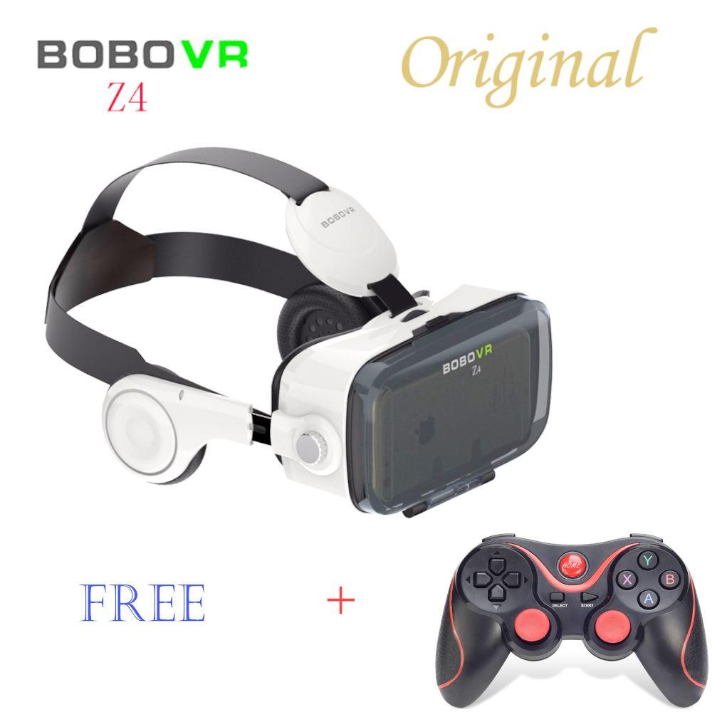 <font><b>Virtual</b></font> <font><b>Reality</b></font> Xiaozhai BOBOVR Z4 3D VR <font><b>Glasses</b></font> 3D Game Video Headset <font><b>for</b></font> 3.5-6.0 inches <font><b>Mobile</b></font> <font><b>Phones</b></font> Immersive <font><b>with</b></font> Headphone