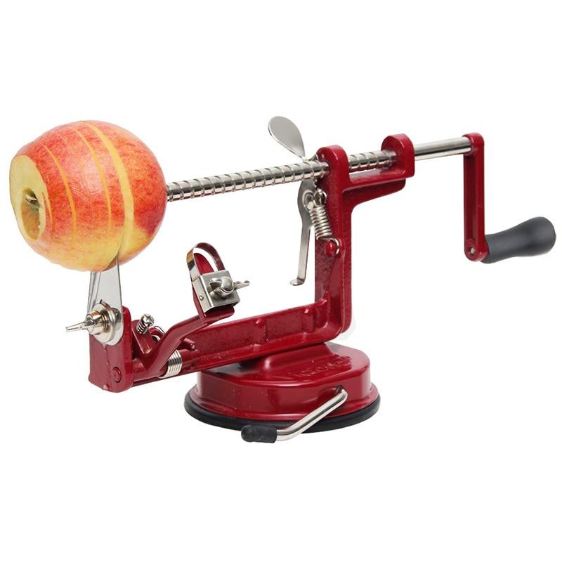 3 en 1 apple fruit vegetable potato peeler corer cortadora máquina rebanadora ho