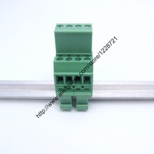 1Set PCB plug Upper and lowerconnection terminal 5.08mm 2to 16poles 15*5mm Din Rail Mounting pcb connector replace UK Terminal(China (Mainland))