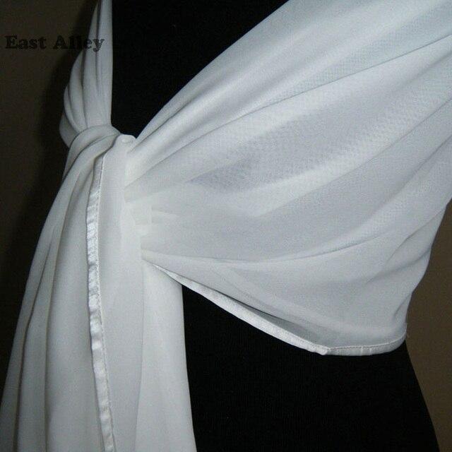 אביזרי חתונה הכלה שיפון דקה גלימת משיכת הכתפיים גלישת צעיף גנב צעיף כלה נשוי
