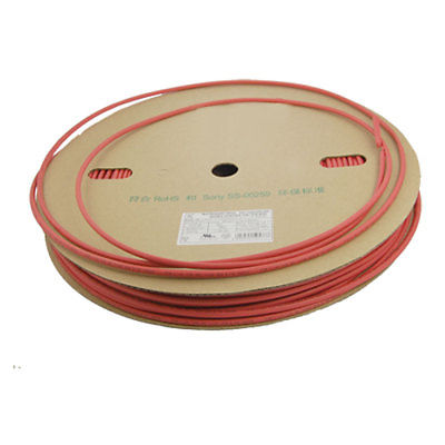 Red 5mm x 100 Meters Sleeves Heat Shrink Tubes 2:1 Ratio blue polyolefin 3 0mm x 200 meters heat shrink tubes 2 1