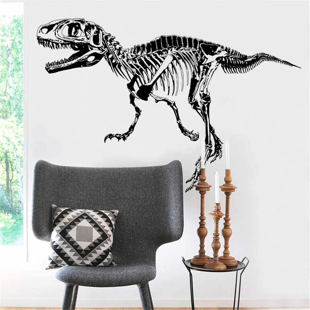 Aliexpress Decoration Maison Dinosaur Wall Stickers Vintage Animal Home Decor Decals Decoration Maison Ev Dekorasyon Aksesuarlar