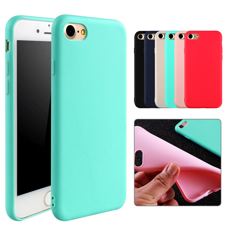 Cell Phone - Silicone Matte Case For iPhone 11