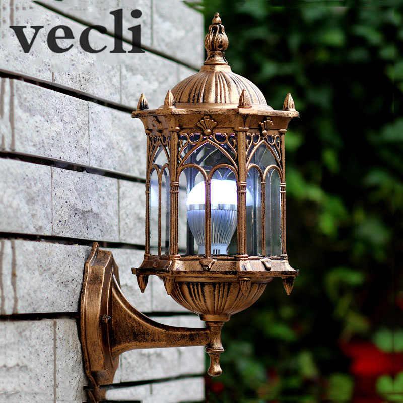 Lámpara de pared al aire libre de Europa villa Puerta de entrada patio candelabro luz Residencial balcón luces WCS-OWL003