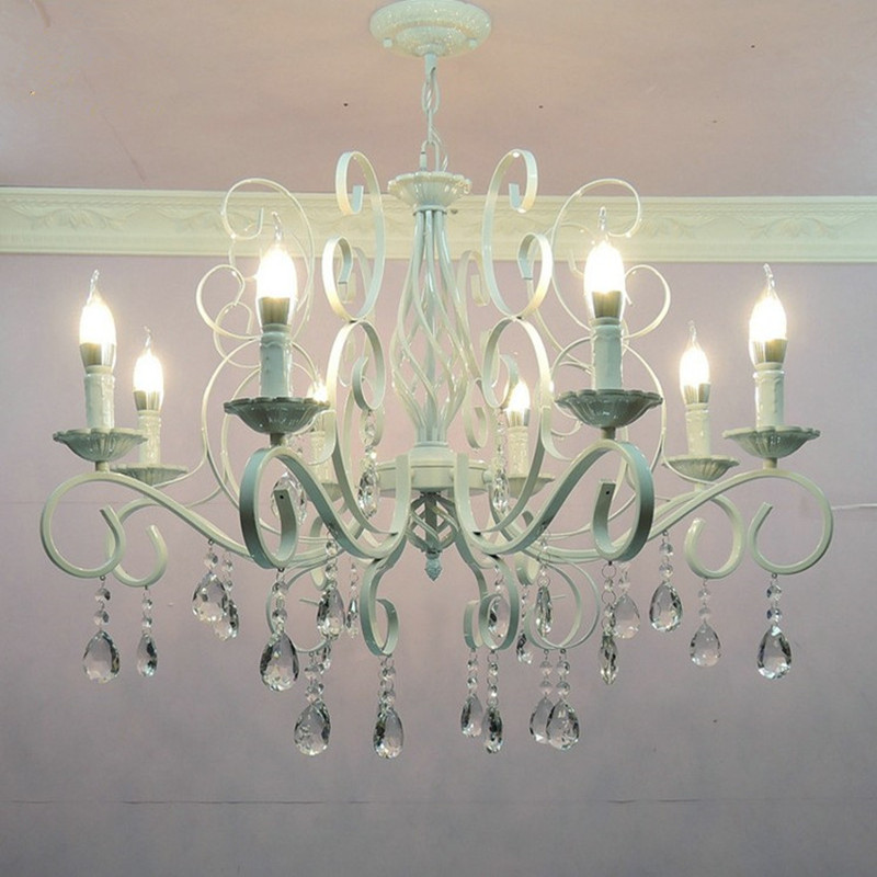 Lampe d'ampoule de lustre E14 de lumière de bougie de Style classique européen pour le restaurant d'hôtel de salon