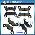 Front Rear Brake Pads For ATV Polaris RZR 800 2008 2009 2011 2012 2013 2014 RZR 570 2012 2013 2014 2015