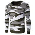Military Printed Mens Sweater Pullover High Quality Cotton Warm Polo Sweater Designer Men Pull Homme Male Woolen Sweaters S2371