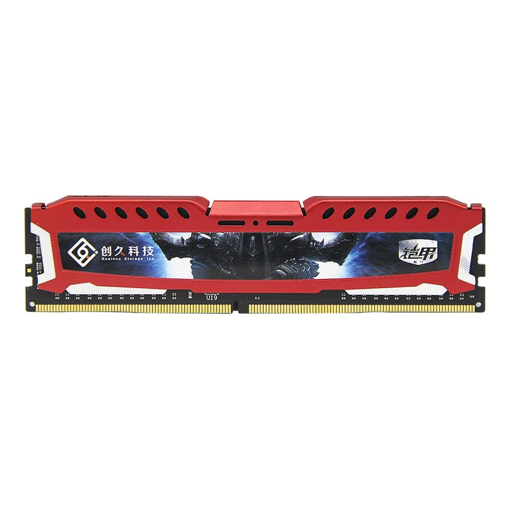 Reeinno DDR4 RAM Desktop memory 4GB/ 8GB/ 16GB 2400MHz 1.2V CL=17 17-17-17-39 PC4-19200 Interface Type 288pin single memory RAM 1