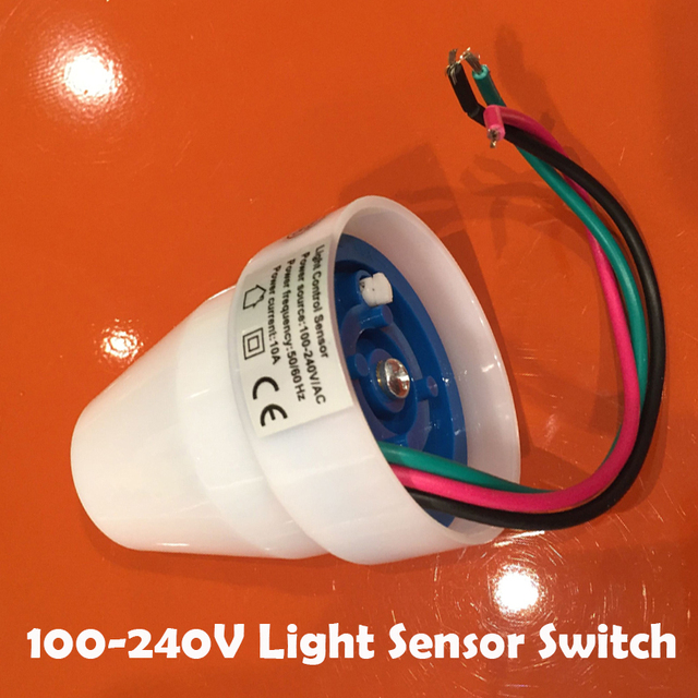 Free shipping 110v 240v 10a outdoor auto on off light sensor switch free shipping 110v 240v 10a outdoor auto on off light sensor switch photocell sensor aloadofball Image collections