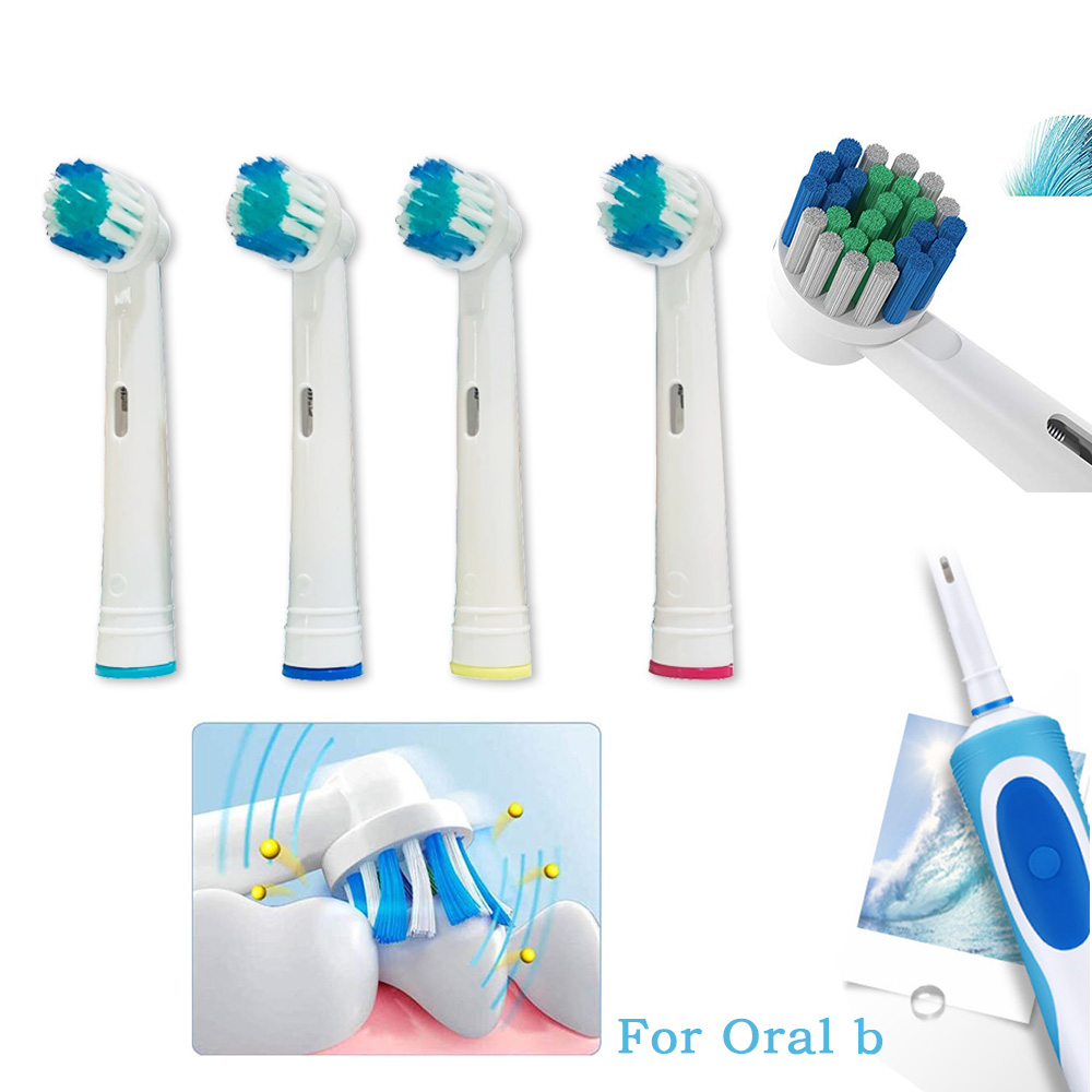 8 Pc Replacement Toothbrush Heads For Oral B Toothbrush Heads Compatible Oral-b Vitality Electric Toothbrush Oral B Heads  5