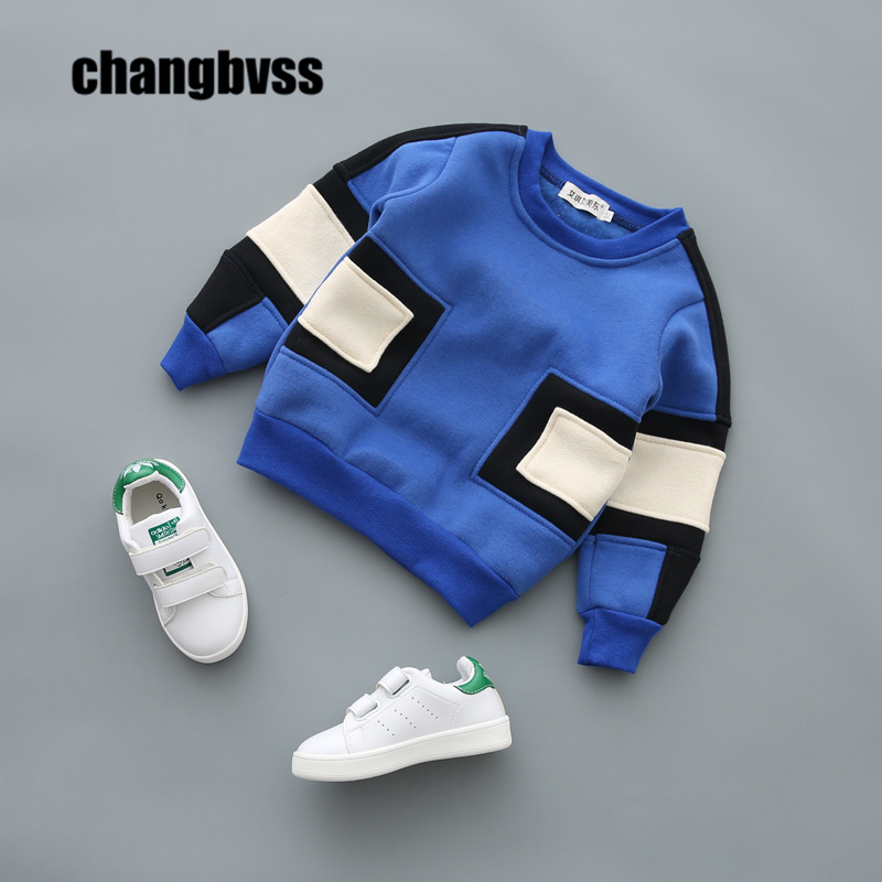ФОТО Fashion Boys Sport Hoodies Warm Fleece Sweatshirt Children Clothes Baby Kids Coat Jacket Children's Clothing Pullover Jumper