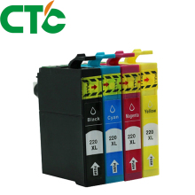 4 Pack T2201 220xl Compatible Ink Cartridge for INK WorkForce WF-2630 WF-2650 WF-2660 WF-2750 WF-2760