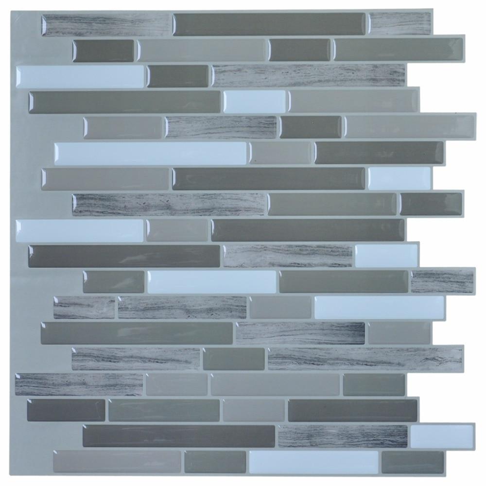 Stick Backsplash Tiles For Bathroom And Kitchen 12 X12 Peel And Stick