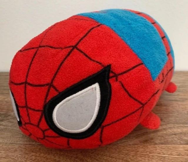 Tsum Tsum Spiderman Homem Aranha de Pelúcia Travesseiro Almofada Grande Presente Brinquedo de Pelúcia colecionáveis 11in