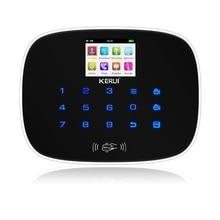 2017 NEW arrival kerui W193 WiFi 3G GSM PSTN RFID Wireless smart Home Security Alarm System DIY kit