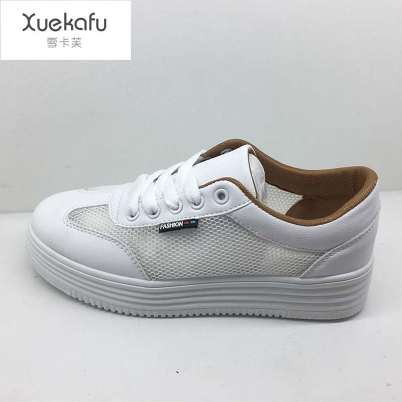 2017 New Summer Platform Shoes Woman Zapatillas Mujer Casual Tenis Feminino Esportivo Women Ladies Womens Breathable Mesh Shoes new women lose weight slimming swing shoes summer breathable air mesh slip on wedge platform shoes zapatillas mujer deporte