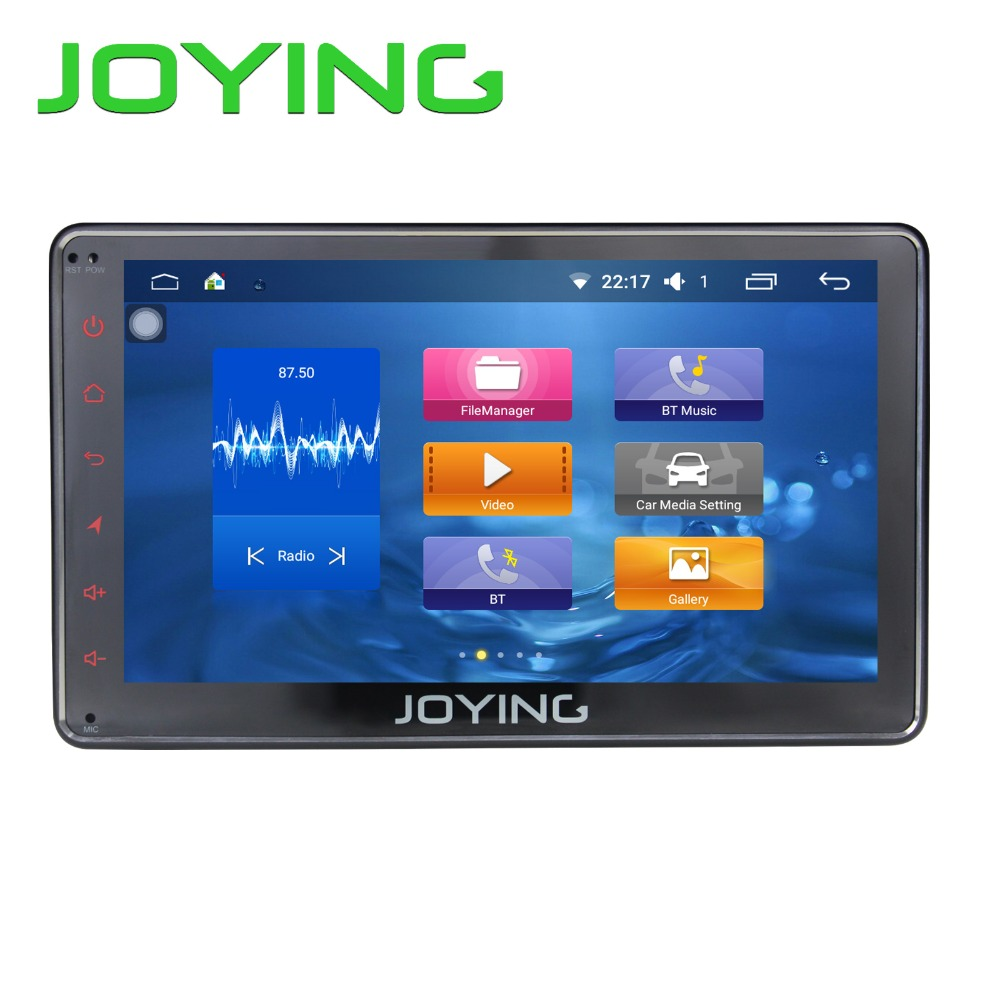 JOYING New Android 5 1 Universal Single 1 DIN 7 Car Radio Stereo Quad Core Head