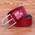 2015-16 new arrival geuniue cinturon cinto senhoras da moda cinto de couro marca de luxo para as mulheres com o X-tipo corda personalidade