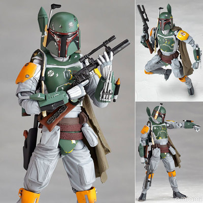 NEW Star Wars REVO 005 Boba Fett PVC Action Figure Collectible Model Toy 16cm