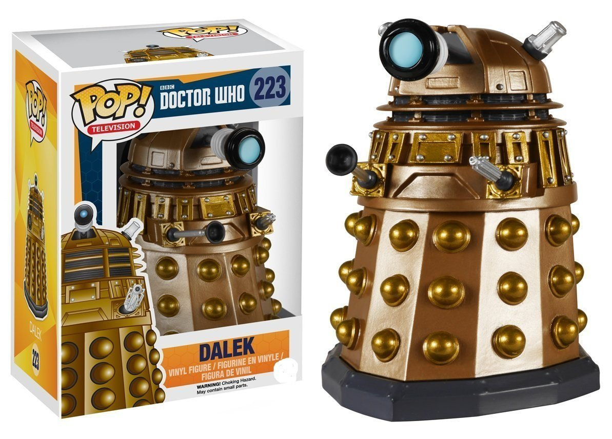 Funko pop Official Marvel Doctor Who - Dalek Vinyl Action Figure Collectible Model Toy with Original Box  funko pop marvel batman 84 pvc action figure collectible model toy 12cm kt2370