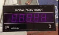 DF4 TRMS 4 1 2 Digital True RMS AC Voltage Meter AC500V Range AC110V 220V 50