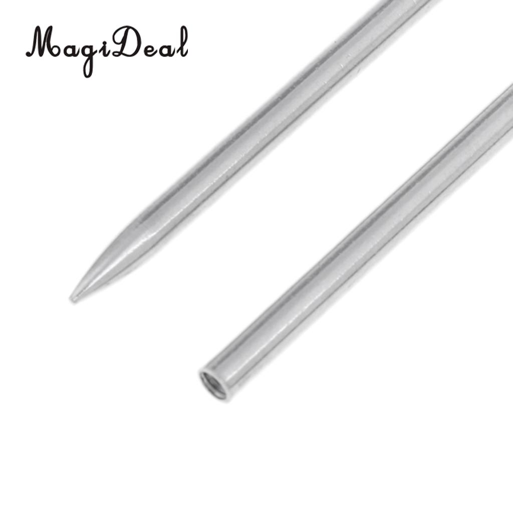 2 Pieces Stainless Steel 550 Paracord FID Lacing and Stitching Needles