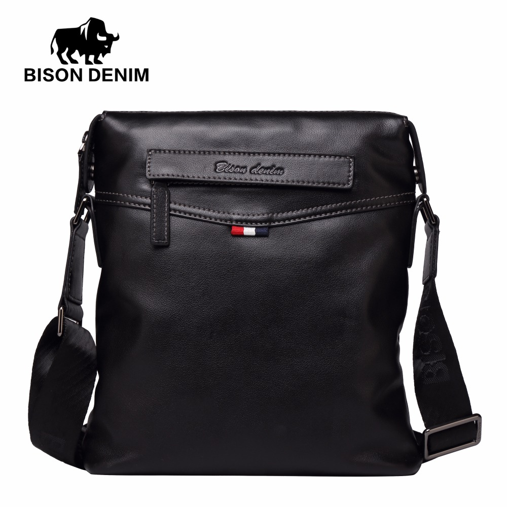 bison denim bolsa bolsa de Exterior : Saco Contínuo