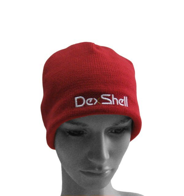 Fardas borgonha Outdoor Sports Beanie Hat Waterproof + Windproof + + respirável proteção quente + Coolvent lite Dexshell