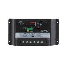 Carregador de Proteção do Painel 30A PWM Solar Controlador de Carga Regulador 12 V e 24 V DC