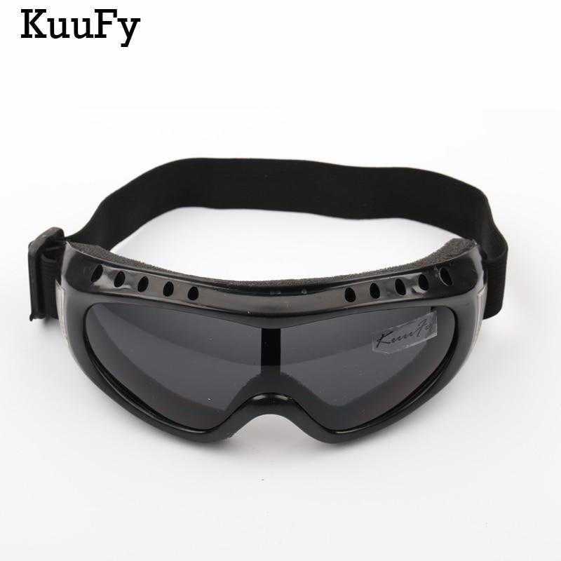 KuuFy Outdoor UV400 Windproof Glasses Ski Glasses Dustproof Snow Glasses Men Motocross Riot Control Skiing Goggles