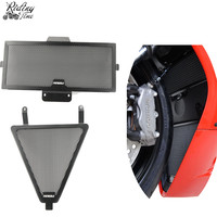 Motorcycle Radiator Guard Grille Guard Cover Protector Oil Cooler Guard For Panigale 1299 899 959 1199 1199S 1299S
