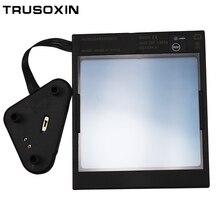Из управления большой вид eara 4 дуги сенсор DIN5-DIN13 Солнечная Авто Затемнение TIG MIG MMA Сварочная маска/Helme фильтр объектив шлем очки