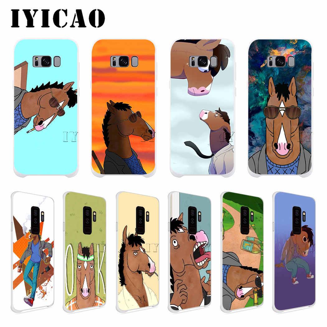IYICAO BoJack Horseman LonelyHard étui pour samsung Galaxy J6 J5 J1 J2 J3 J7 2017 2016 2015 Premier J7 NOUS J5 Version UE
