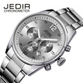 JEDIR 2016 New Quartz Watch Waterproof Stainless Steel Men Luxury Brand Watches Fashion Casual Business Sports WristWatches