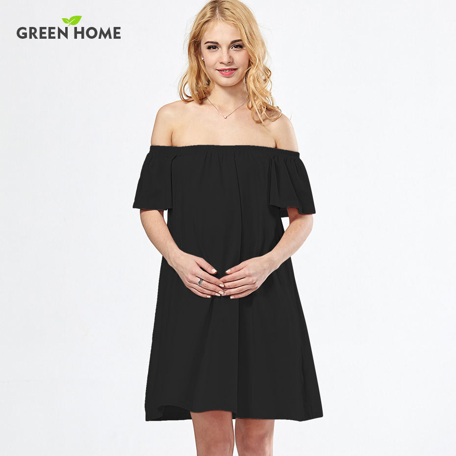 Compare prices on off shoulder maternity dress online shopping green home sexy dresses for pregnant women off the shoulder maternity clothing sexy a line ombrellifo Gallery
